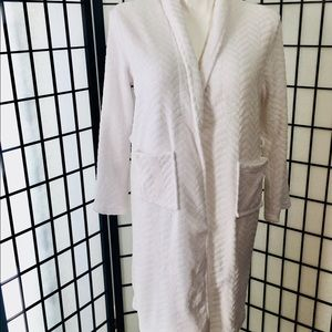 Ulta Plush White Bath Robe S/M